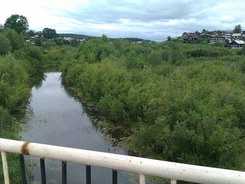 Река в г. Куса