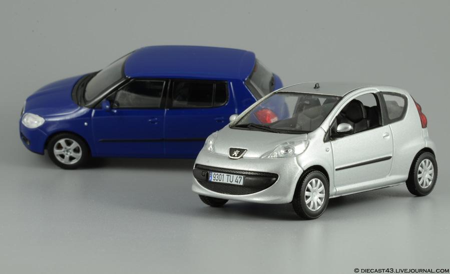 Peugeot 107 Norev