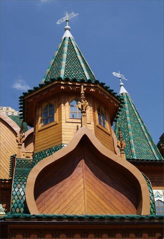 Дворец царя Алексея Михайловича в Коломенском.