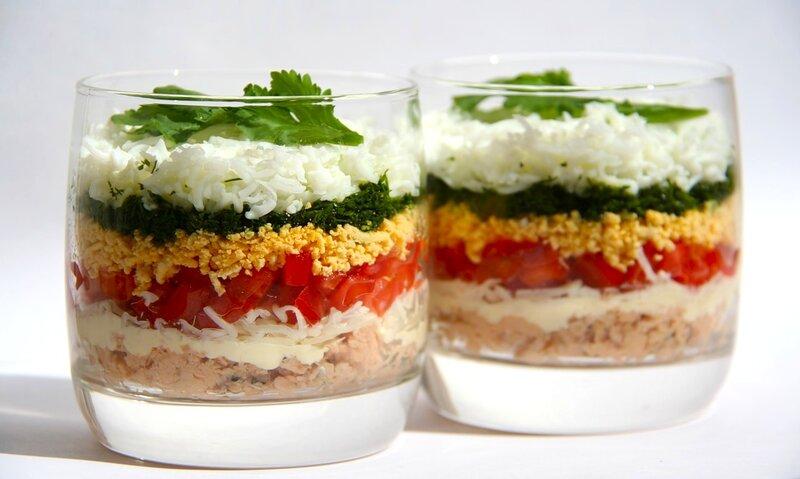 """Новая """"Мимоза"""" с помидорами! Салат"""