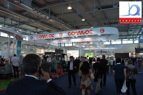 Стенд компании COMAC PULIRE 2011