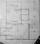план второго этажа дома с оранжереей в крымском стиле