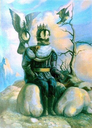 Николай куприянов. Кот и король. 1996