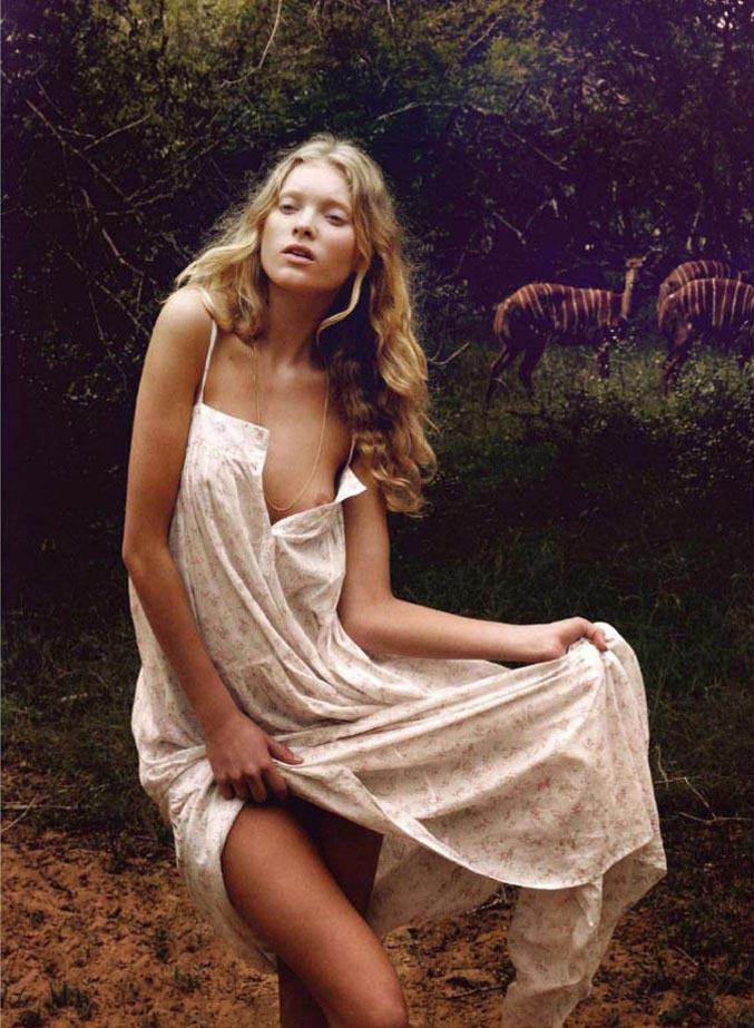 модель Эльза Хоск / Elsa Hosk, фотограф Yu Tsai