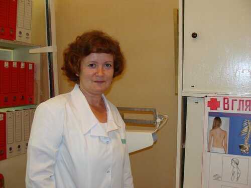 В.Сергеева — медсестра МСШ № 1