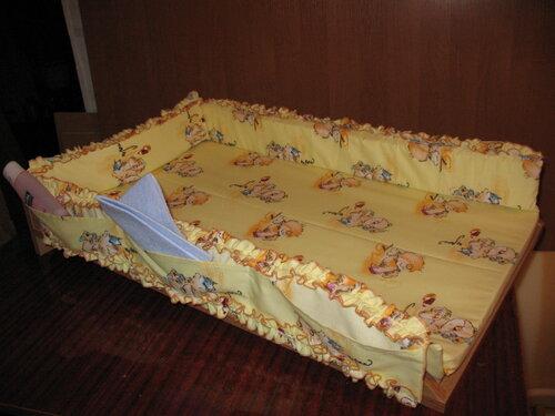 Пеленальная доска на кроватку своими руками мастер класс 25