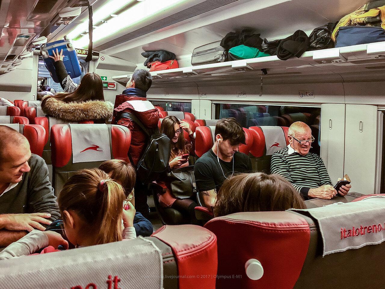 milano treno train vasneverov вася за границей