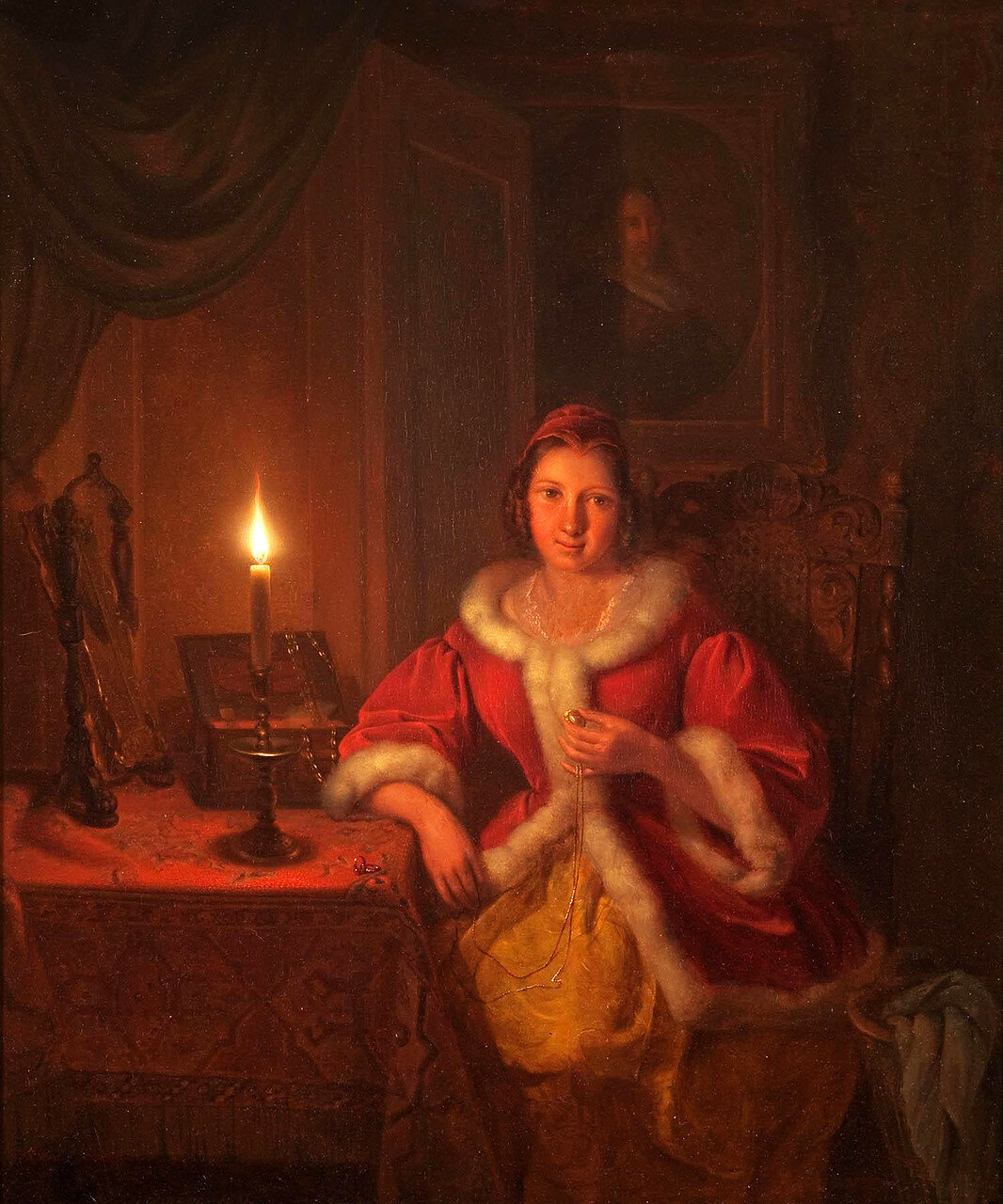 Petrus Kiers (1807-1875)In the boudoir (1841).jpg