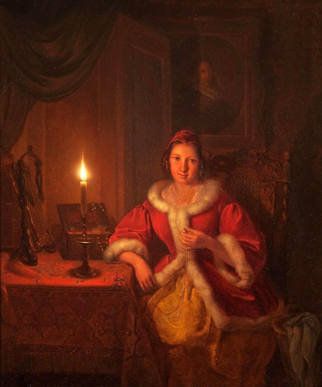 Petrus Kiers (1807-1875)In the boudoir (1841).jpg