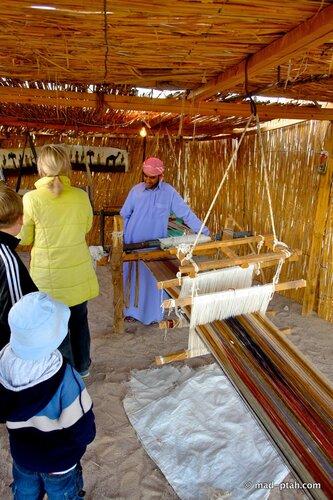 египет, ткацкий станок