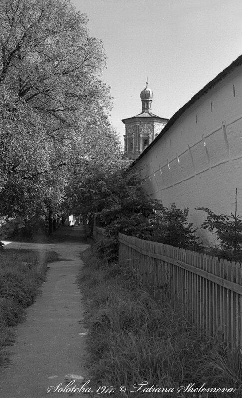 В Солотче. Покровский монастырь.