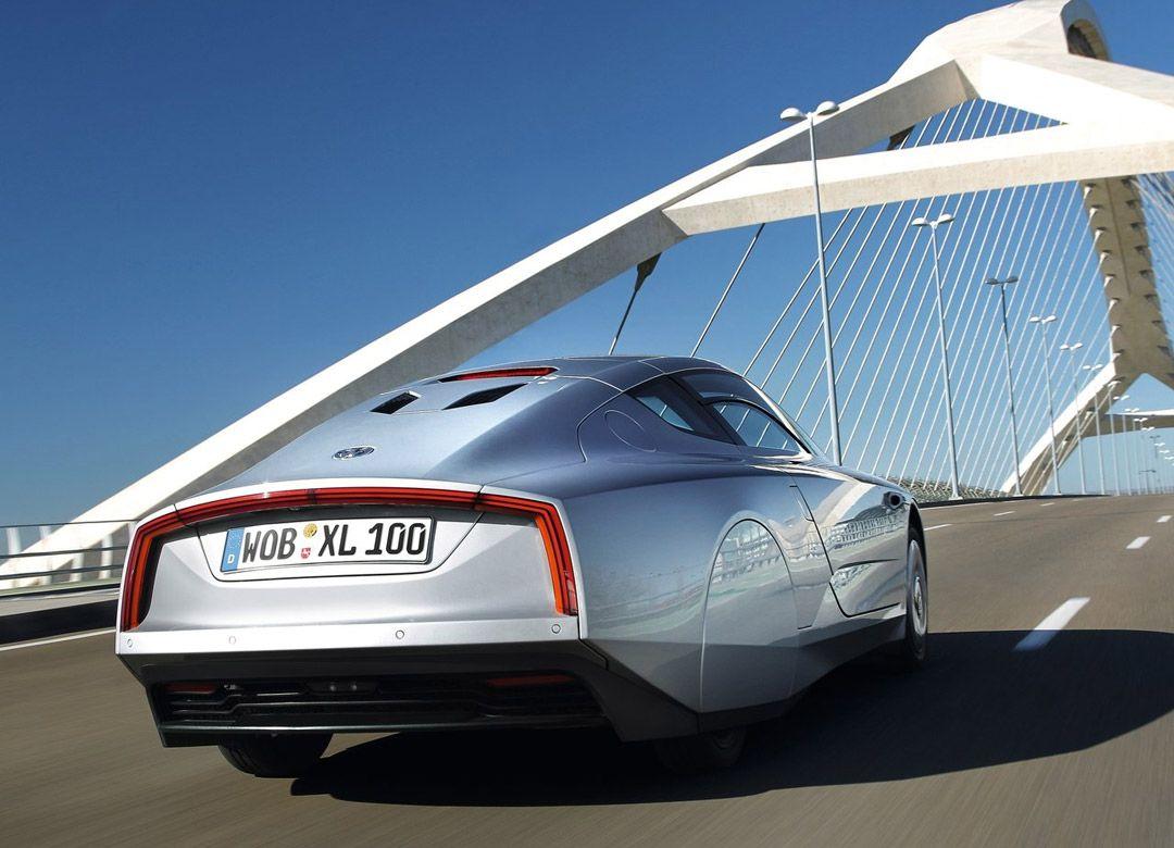 Volkswagen XL1: Один литр на сто километров
