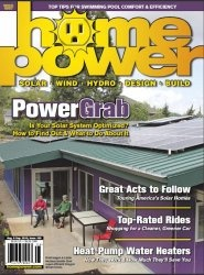 Журнал Home Power №156 (August - September 2013)
