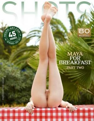 "Журнал Журнал Shots. Maya ""For Breakfast. Part 2"""