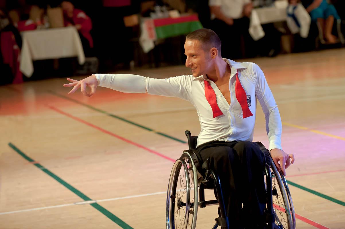 Анапа танцы на колясках