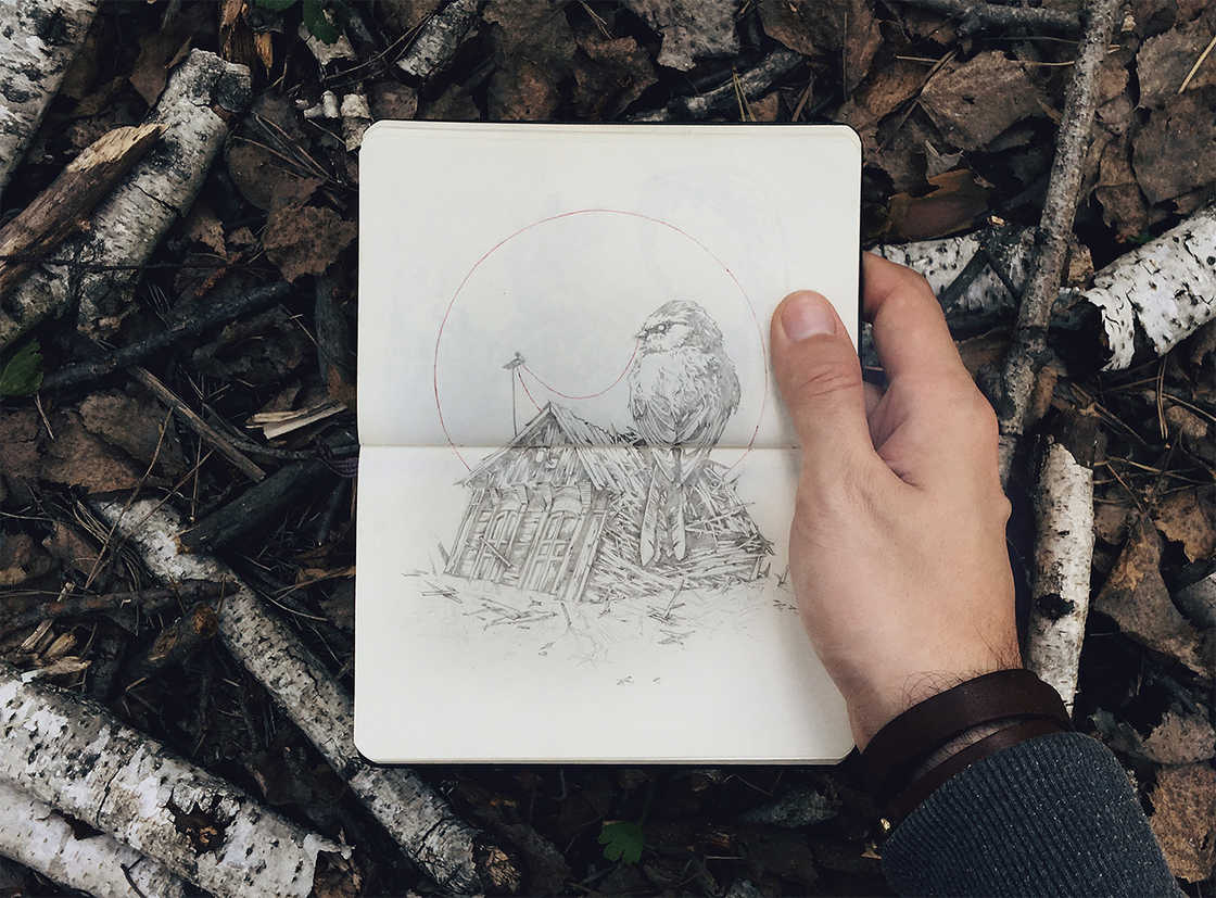 Heartless - The fantastic creatures of illustrator Ivan Belikov