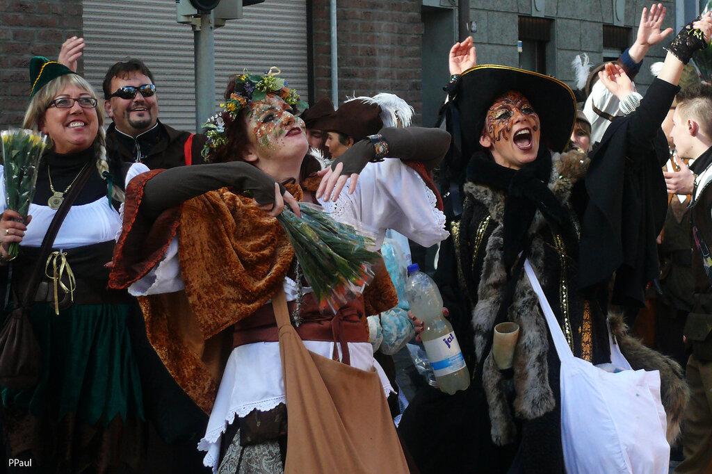 карнавал в Ойскирхене