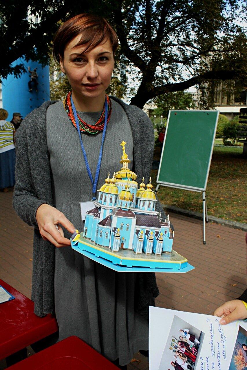 Модель храма