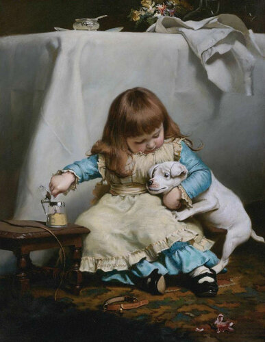 � ������ ���� �������, �������� ��� ���������. ���������� ��������� Charles Burton Barber (1845-1894)