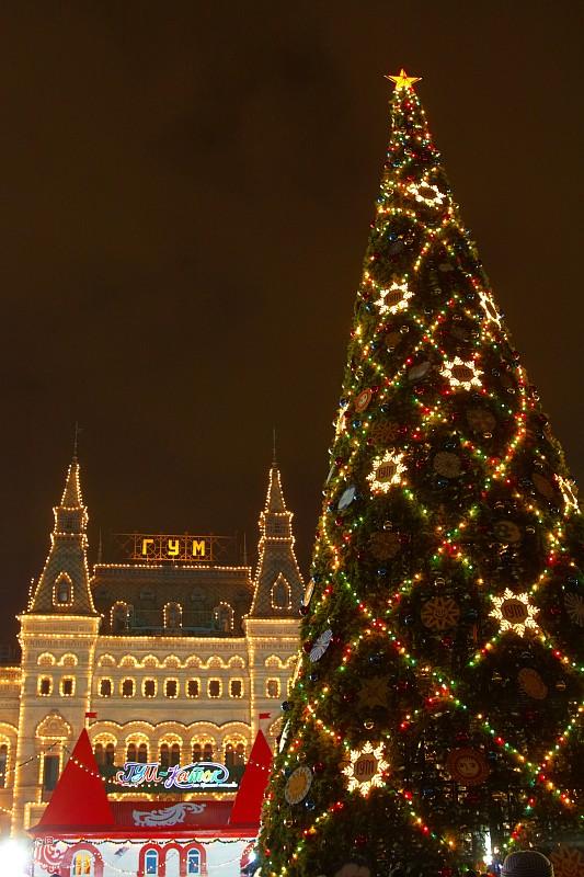 Новогодняя елка на Красной площади