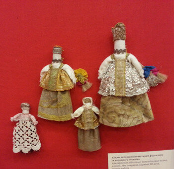 куклы из музея
