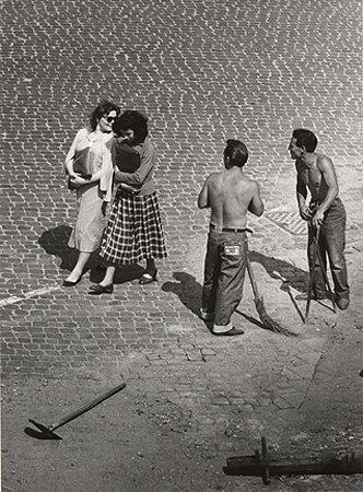 View From A Window 7, Roman Flirt, Trastevere, 1953