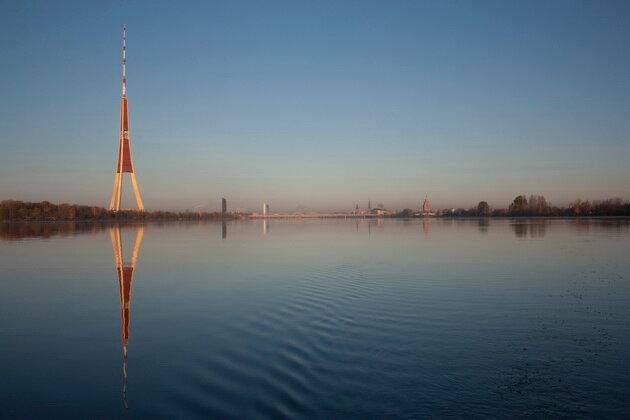 Рижская телебашня. Латвия
