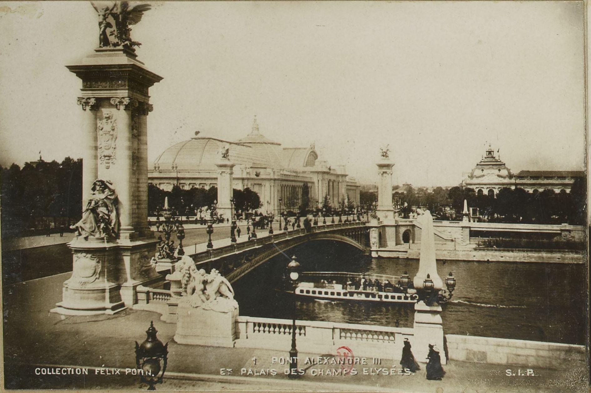 Мост Александра III и дворец на Елисейских полях