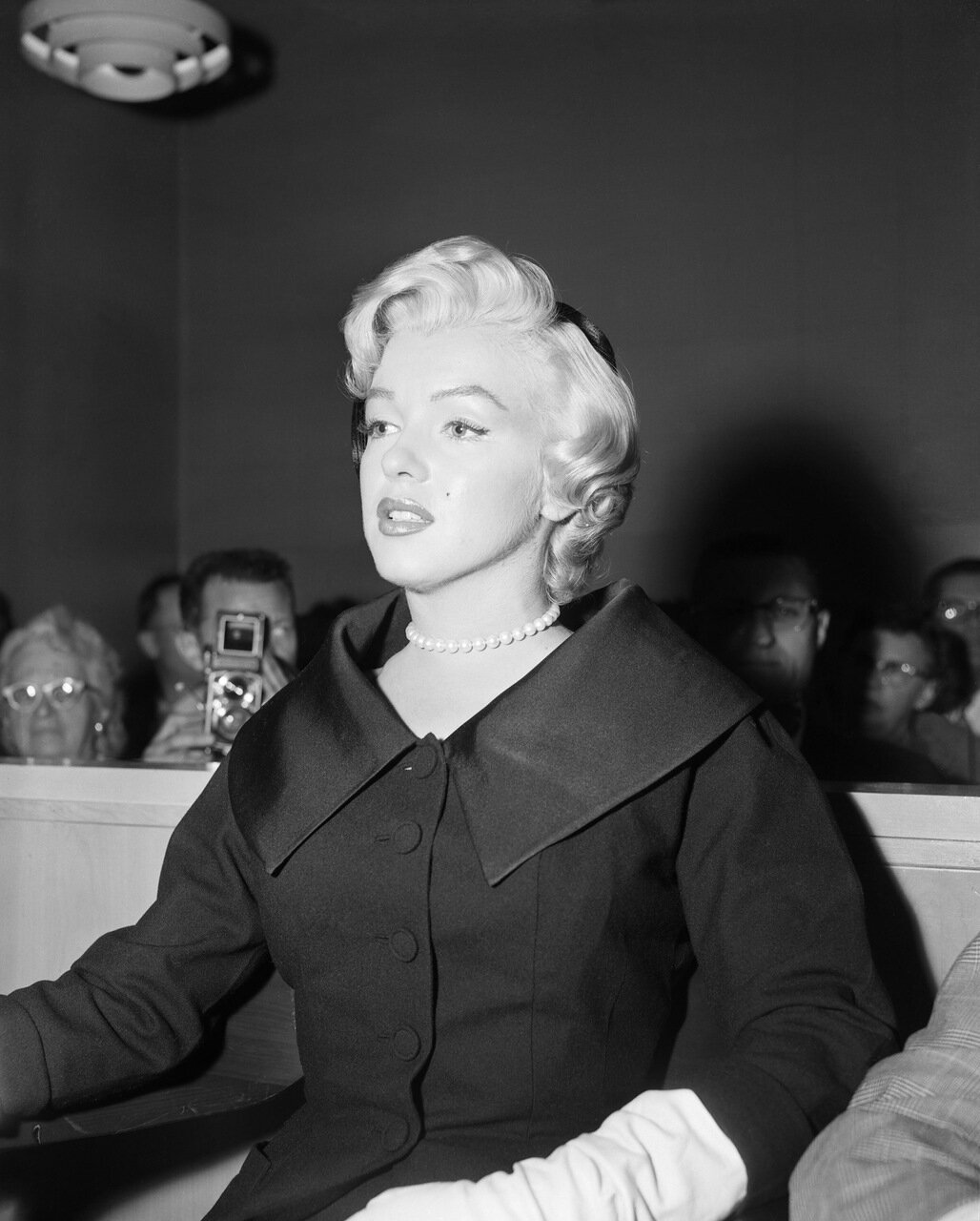 Marilyn Monroe Appears in Superior Court