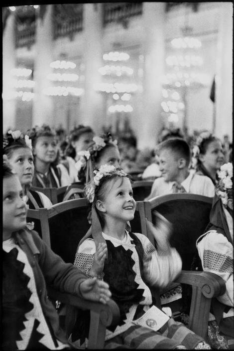 1954. Москва. Праздник Украинской ССР