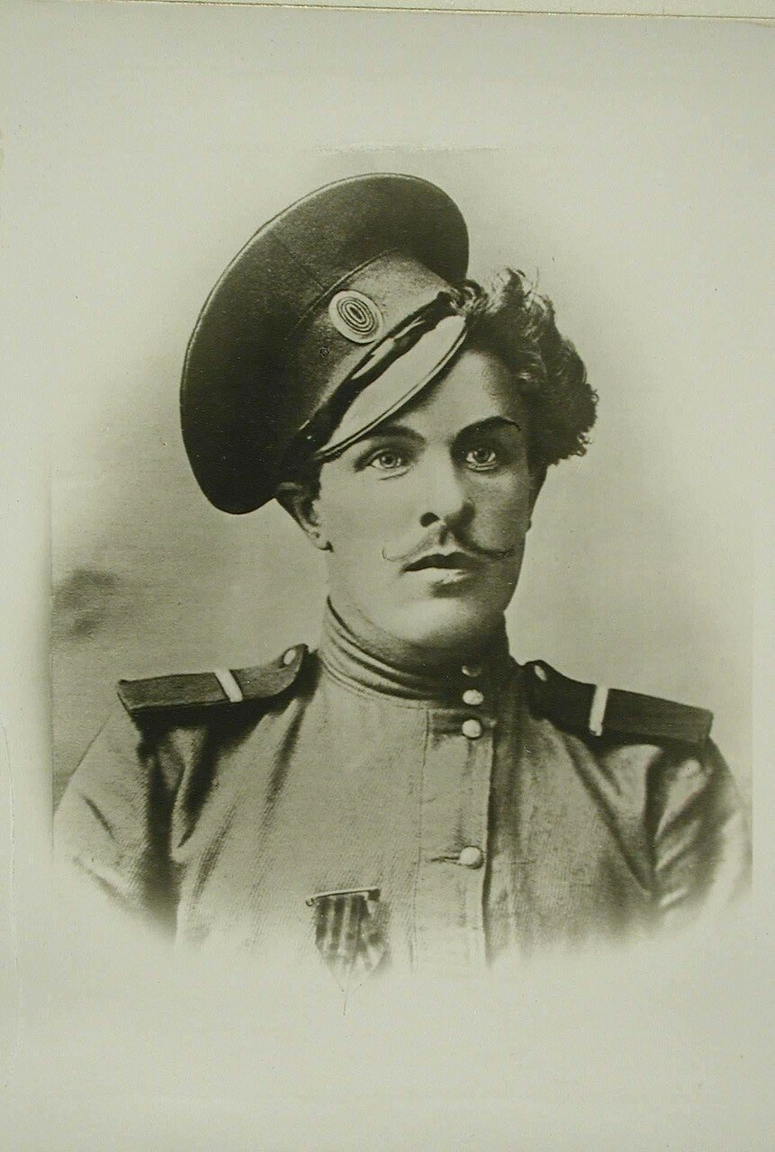 43. Портрет донского казака Козьмы Крючкова