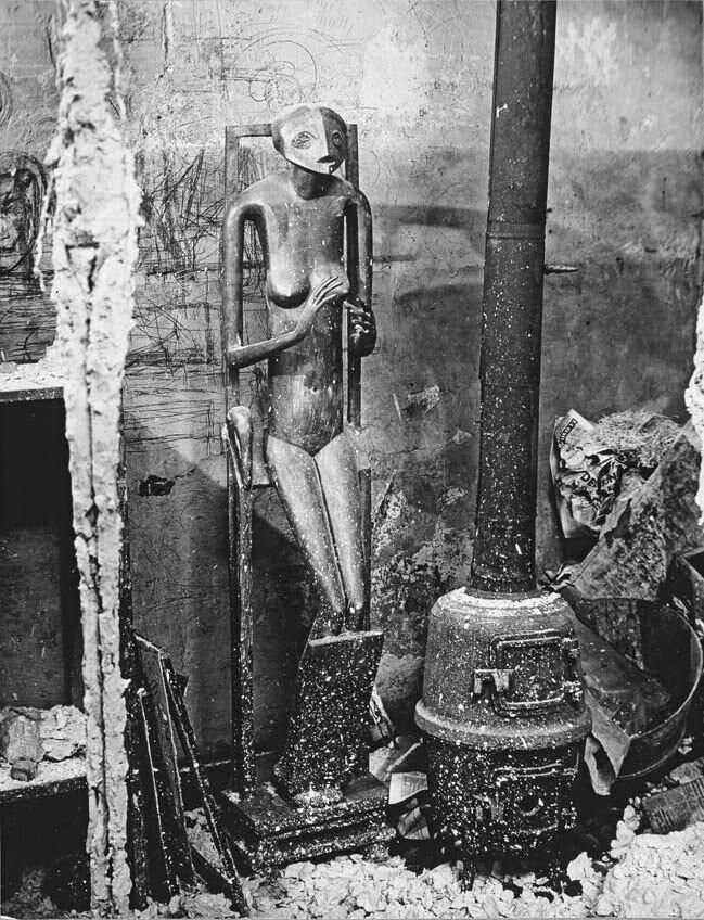 1948. В студии Джакометти