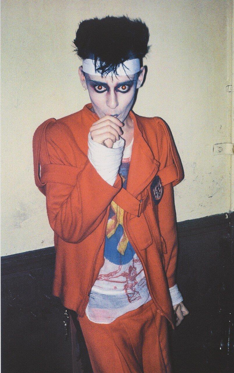 1980. Стивен в клубе «Blitz»