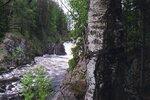 Водопад Кивач в июне 2005