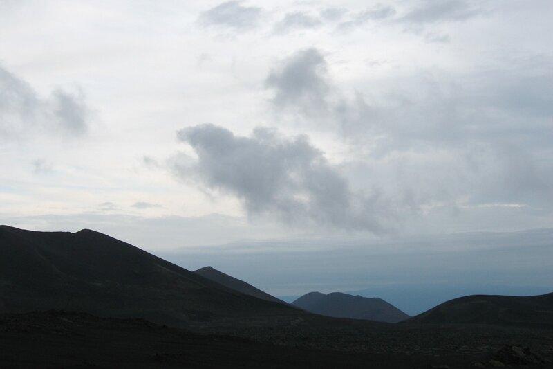 Конуса Большого трещинного толбачикского извержения, Камчатка