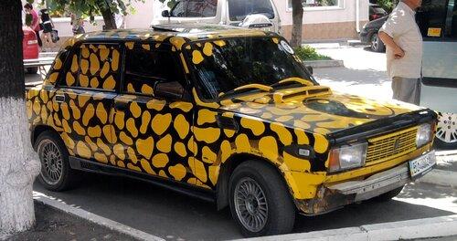 Леопардовый Инь-Янь