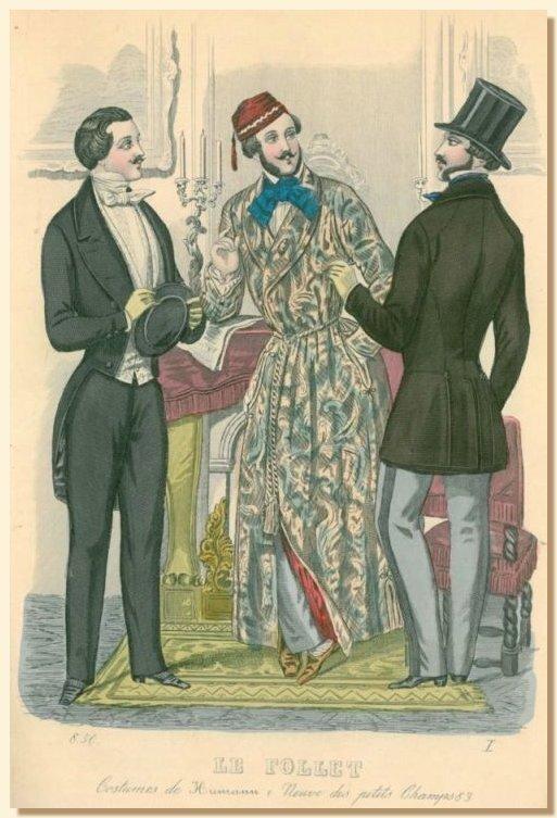 Одежда аристократов