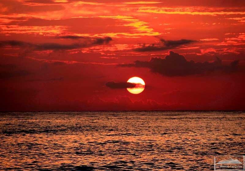 Восход в Бунутане