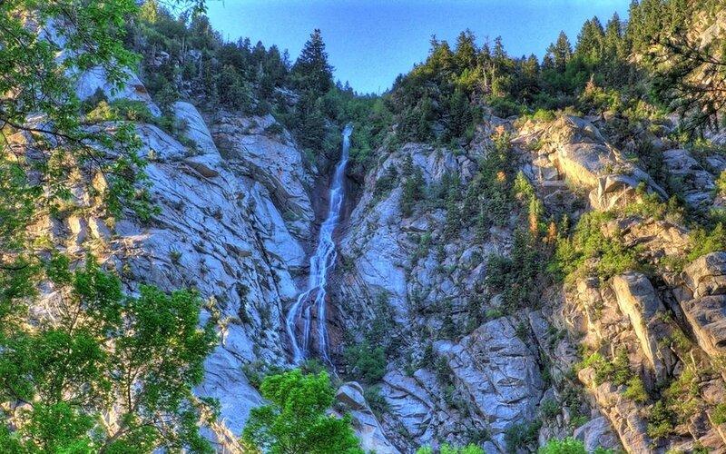 весенний водопад 5