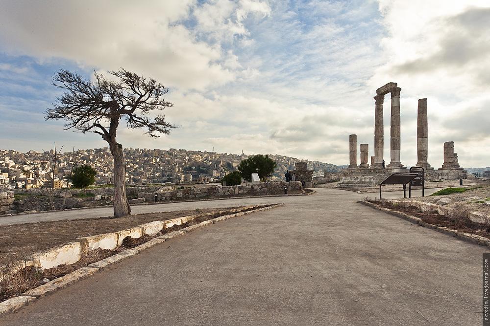 Амман с цитадели, Иордания