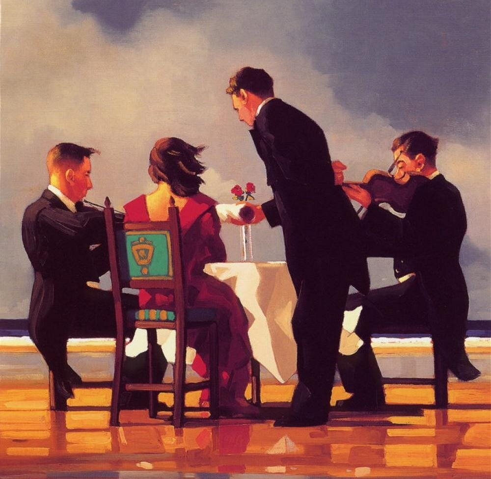 Elegy For A Dead Admiral, by Jack Vettriano