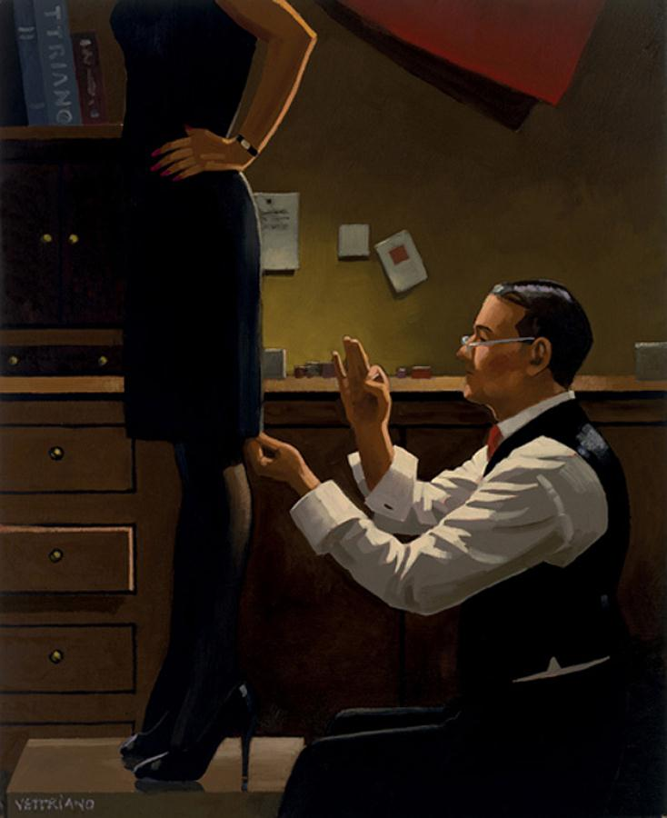 The Devoted Dressmaker, by Jack Vettriano