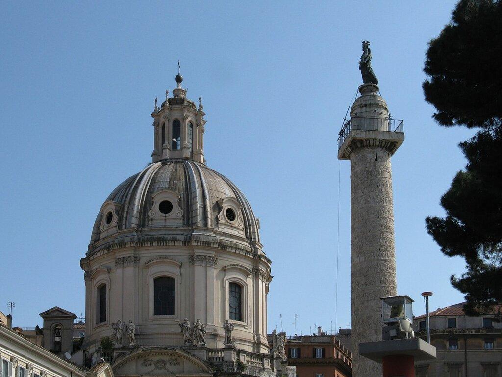 Рим. Колонна Траяна.