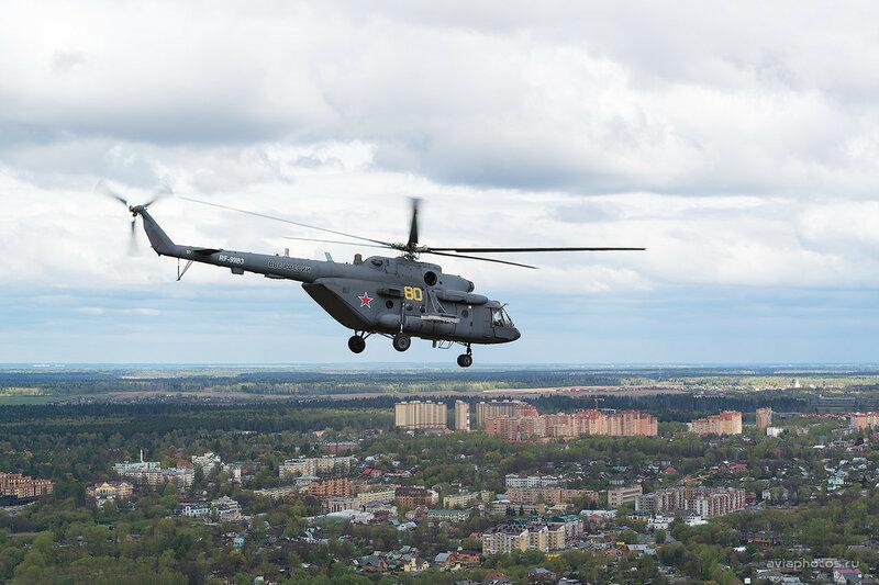 Миль Ми-8МТВ-5 (RF-91183 / 80 желтый) ВКС России D802854