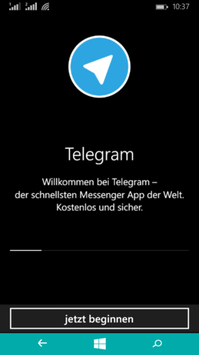 Как сделать телеграмм на русском языке на windows phone