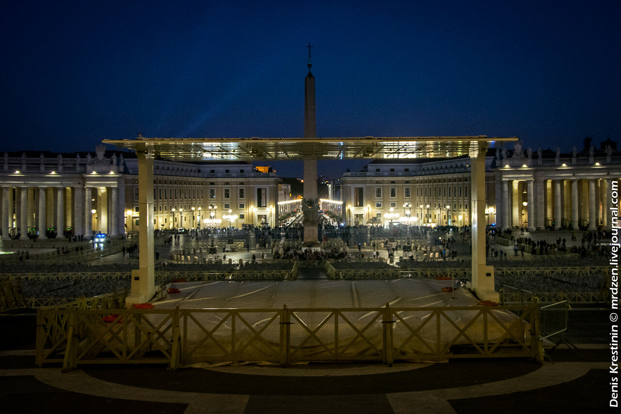 Ватикан. Площадь Святого Петра