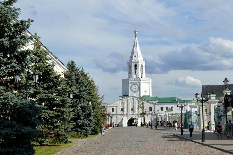 Казанский Кремль. Спасская башня.