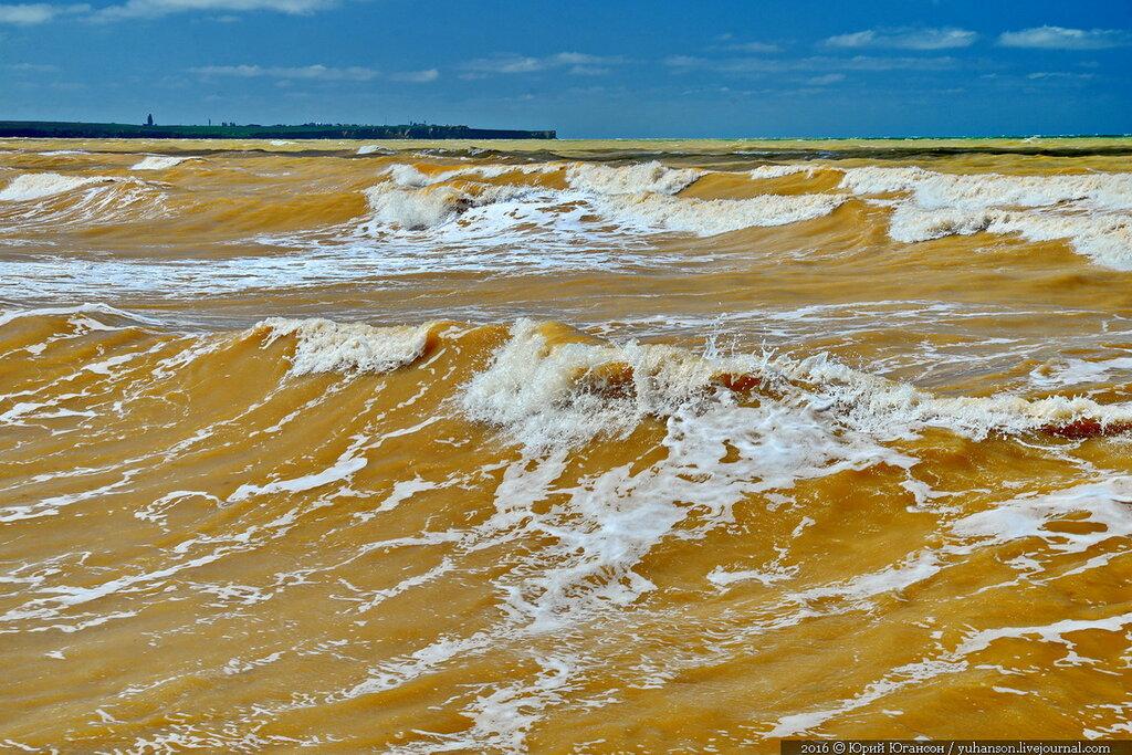 Китай желтое море фото
