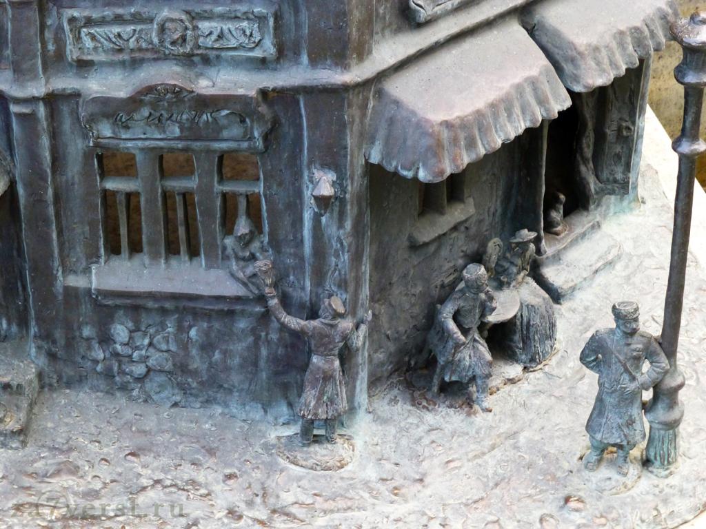 Краснодар, Фонтан, фрагмент