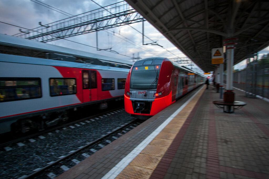 Поезда Ласточка Московского Малого железнодорожного кольца